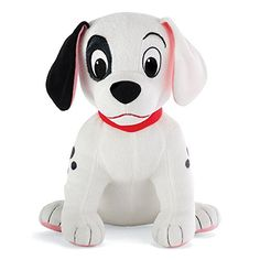 """this is an adorable plush of the puppy name patch in the disney animated classic 101 dalmatians. it stands 10"""" high this adorable plushie is soft polyester and should be spot cleaned only perfect for toddlers and up who want cuddly friend to play with..."""