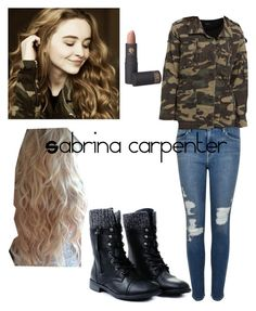 """""""Sabrina carpenter outfit"""" by isacab ❤ liked on Polyvore"""