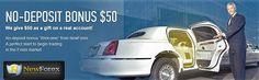 NewForex $50 No Deposit Bonus  Let's start Newly with New Forex – Register an account to get $50 No Deposit Bonus. Its a fine way to start live Forex trading where no risk involve.  for more details : https://www.worldforexinfo.com/newforex-50-no-deposit-bonus/