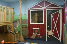 farm and barn themed mural by EmbellishmentsKids.com
