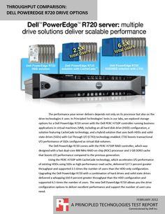 Throughput comparison: Dell PowerEdge R720 drive options http://facts.pt/1v6mXOD