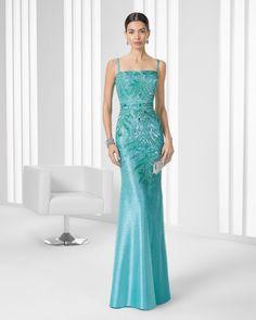 68ae1b181 9T2C4 Vestido de Cocktail de Rosa Clará 2016 Rosa Clara 2016, Dress First,  Coat