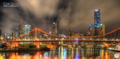 HDR image of The Story Bridge, Brisbane.  www.andrebrown.photography