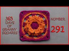 Crochet Tutorial: Wild Flower Days Granny Square   YARNutopia by Nadia Fuad