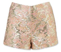 #Topshop Metallic Shorts http://www.instyle.com/instyle/shopping/