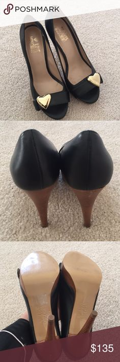 Authentic love moschino shoes Only worn 30 mins for an event in great condition size 6 Love Moschino Shoes