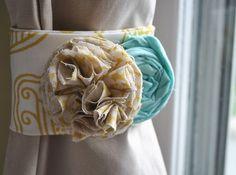 DIY Flower Curtain Ties | Blog | HGTV Canada