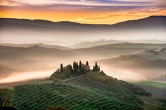 Tuscany countryside, Rolling Hills - Tuscany countryside, Belvedere, Val d'Orcia