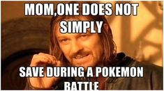 One Does not simply meme. Pokemon