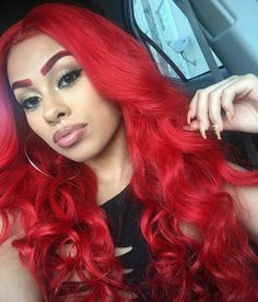 hot red body wave