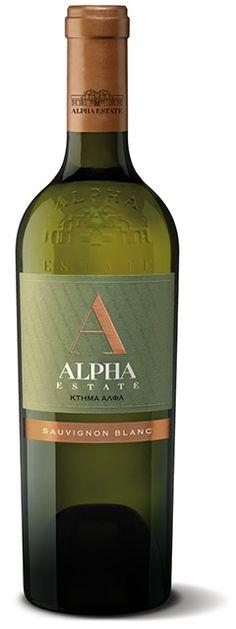 Κτήμα Άλφα Λευκός ξηρός 2013 (Sauvignon blanc 100%), Κτήμα Άλφα, Αμύνταιο