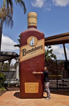 The Big Rum Bottle, Bundaberg, Queensland