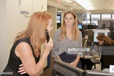 Princess Beatrice of York and Dutchess of York Sarah Ferguson attend the Annual Charity Day hosted by Cantor Fitzgerald BGC and GFI at Cantor...