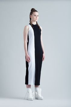 Stripe Maxi Dress via Edward Stothers. Click on the image to see more!