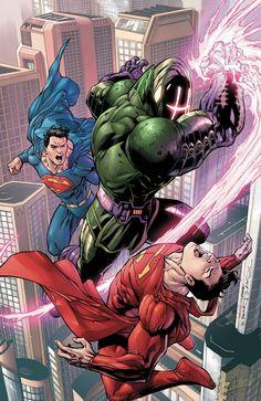 Convergence #3 - Superman by Tony Daniel *