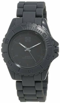 KR3W Men's K1231GYBK Phantom Grey and Black Analog Watch KR3W. $42.00. Hardened mineral crystal. Matte dial with tonal gloss markings and hands with lum. Three hand japanese quartz movement. Water-resistant to 30 M (99 feet). Matte polycarbonate plastic case, strap, and crown