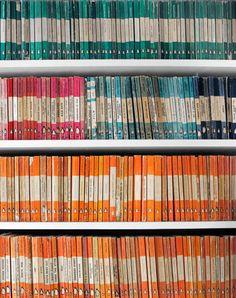 In beeld: creatieve manieren om die overvloed aan boeken te ordenen