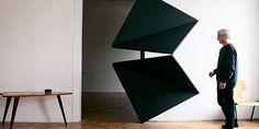 Austrian Artist Reinvents Door With Innovative 4 Folding Triangle Design | DeMilked