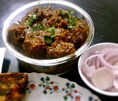 Easy Bhuna Gosht recipe - Step by step how to make delicious Indian mutton bhuna (bhuna gosht). Lamb Recipes, Curry Recipes, Meat Recipes, Indian Food Recipes, Chicken Recipes, Cooking Recipes, Recipies, Lobster Recipes, Indian Snacks