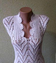 Fabulous Crochet a Little Black Crochet Dress Ideas. Georgeous Crochet a Little Black Crochet Dress Ideas. Débardeurs Au Crochet, Mode Crochet, Crochet Motifs, Crochet Woman, Filet Crochet, Irish Crochet, Crochet Patterns, Crochet Stitches, Beach Crochet