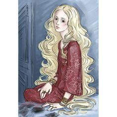 "Persephone (""the Raven Cycle"" by Maggie Stiefvater) #art #fanart #illustration #characters #books #novels #Maggie_Stiefvater #Raven_Cycle #Raven_Boys #Persephone #Poldma #psychic #female #digital #Wacom #PhantomRin"