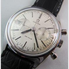 vintage omega deville chronograph - Google Search