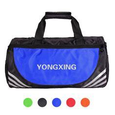 5864214f6ce Waterproof Sports Handbag Women Men Outdoor Shoulder Bag 27L Capacity Fitness  Gym Bag Travel Bag Free