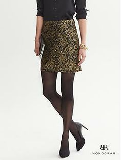Metallic Lace Mini... great for the holidays!