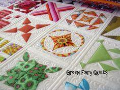 Green Fairy Quilts: Half Way.............