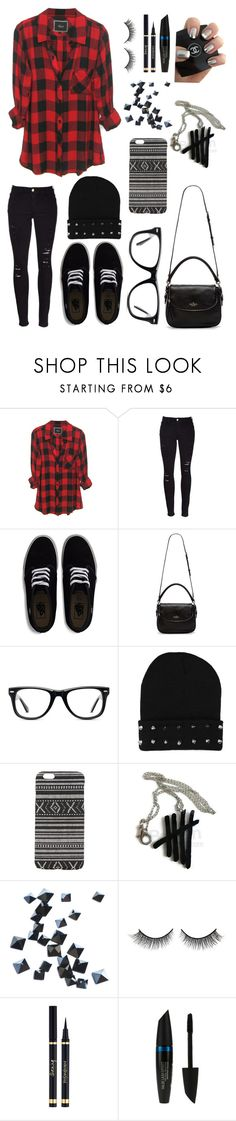 """5sos concert"" by skittlebum ❤ liked on Polyvore featuring Frame Denim, Vans, Kate Spade, Muse, With Love From CA, Ardency Inn, Rimini and Max Factor"