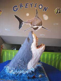 Awesome Shark #Cake