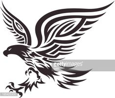 Tribal Eagle Vector Art | Getty Images