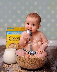 Sorry un-born child, but yes you are sitting in a bowl of cereal for me so we have this cute ass picture!!!!