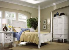 More white bedroom furniture