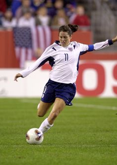 """The beauty of sports for me has always been life lessons, confidence, self-esteem, how to deal with adversity and being apart of a team. "" - Soccer player Julie Foudy"