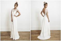 Rime Arodaky bowie wedding dress