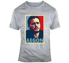 Jon Snow Aegon  T Shirt Gifts For Friends, Jon Snow, Shirt Style, Tv Series, Mens Tops, How To Make, Cotton, T Shirt, Stuff To Buy