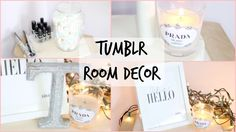 DIY Tumblr room Decor   Room Decor