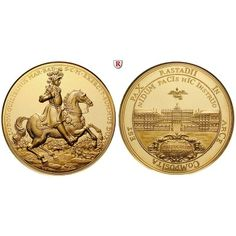 Baden, Baden-Baden, Ludwig Wilhelm, Goldmedaille 1955, 63,99 g fein, st aus PP: Ludwig Wilhelm 1677-1707. Goldmedaille 50 mm 63,99 g… #coins