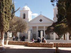 la iglesia de Humahuaca, Jujuy, Argentina