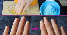 She Was Soaking Her Finger In This Mixture For Two Weeks. You Will Not Believe What Happened She Was Soaking Her Finger In This Mixture For Two Weeks. You Will Not Believe What Happened! Diy Nails Soak, Nail Soak, Grow Nails Faster, How To Grow Nails, Hair And Nails, My Nails, Uñas Diy, Nagel Hacks, Nail Growth