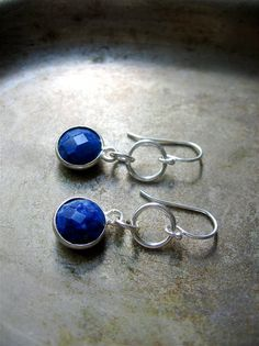 Lapis Earrings - Burton