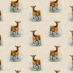Goat All Over Linen Style Canvas Fabric Pattern Weights, Childrens Aprons, Goat Farming, Rectangle Table, Printed Linen, Canvas Fabric, Linen Fabric, Cotton Fabric, Cushion Covers