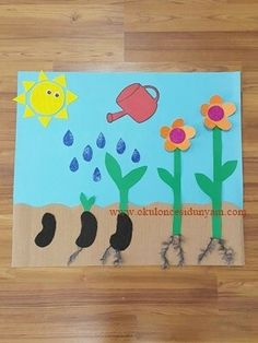 × - Spring Crafts For Kids Preschool Education, Kindergarten Crafts, Preschool Activities, Science Experiments Kids, Science For Kids, Spring Activities, Toddler Activities, Stem For Kids, Art For Kids