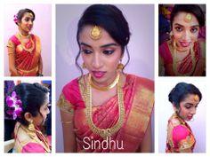 Kerala Bride, South Indian Bride, Bridal Makeup, Bridal Hair, Wedding Sari, Salon Services, Special Events, Saree, Memoirs