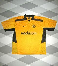 VINTAGE KAISER CHIEFS HOME FOOTBALL SHIRT 02/03 SOUTH AFRICA NIKE XL