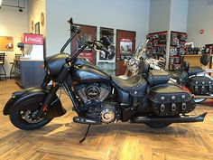 Indian Motorcycle presents the Indian Chief Dark Horse a stealthy