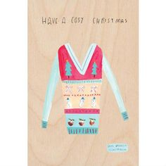 Sweater Christmas Timbergram