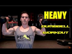 Heavy Dumbbell Workout   YouTube
