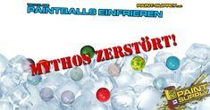 """Hallo liebe Kunden und Paintballer, wer kennt den Mythos """"Paintball einzufrieren macht diese hart wie Steine"""" nicht!? Um es abzukürzen, das FUNKTIONIERT NICHT! Es gibt viele Mythen rund um Paintball und der für uns Populärste ist definitiv Paintballs einzufrieren, um diese super hart zu machen. Leider ist das mit den Materialeigenschaften der Paintballs nicht zu vereinen."""